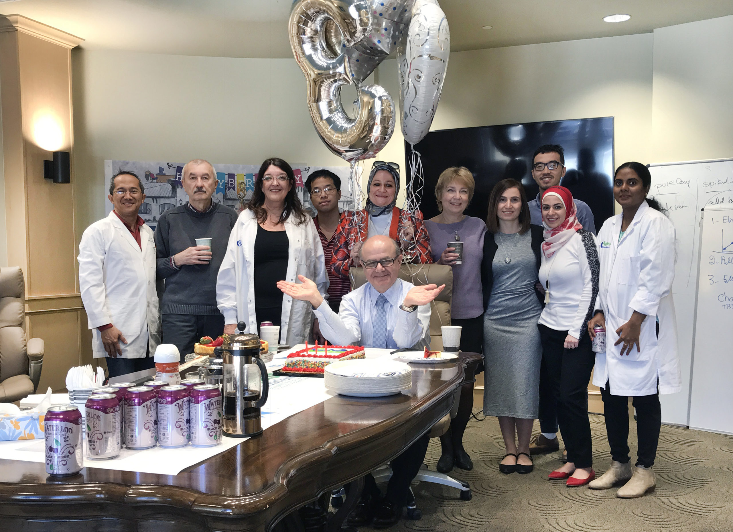 Ayass Bioscience family is celebrating its third anniversary
