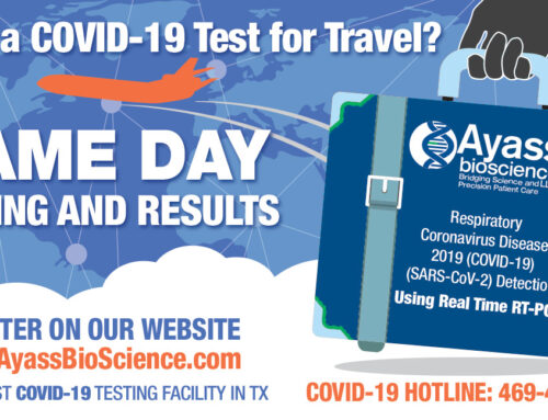Need COVID-19 Test for Travel?
