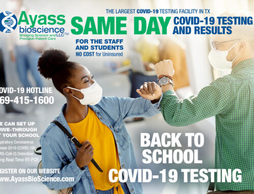SAME DAY COVID-19 Testing and Results for College