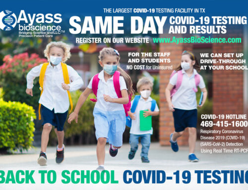 SAME DAY COVID-19 Testing and Results for Schools